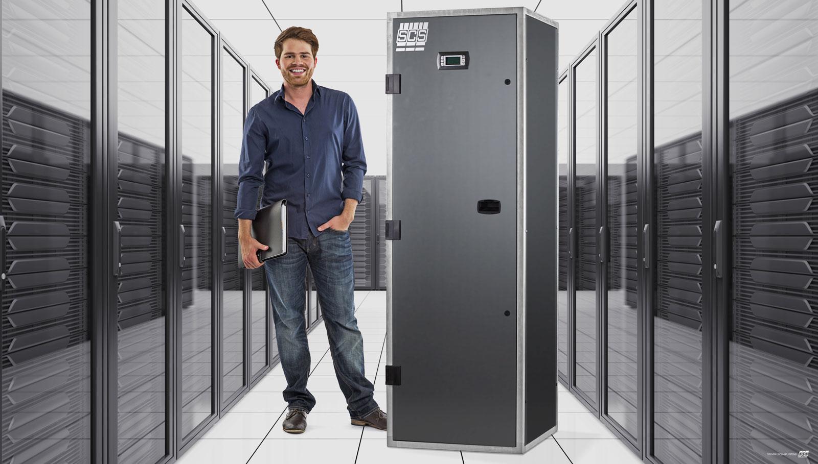 Server Cooling Systems Klimaschrank Präzisionsklimaschränke