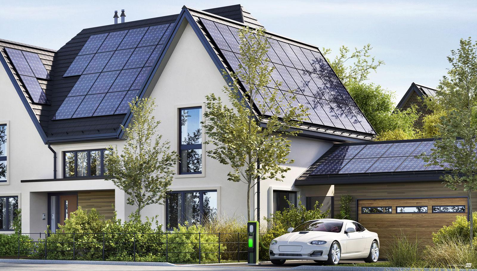 Photovoltaik Solaranlage Wallbox - Server Cooling Systems GmbH